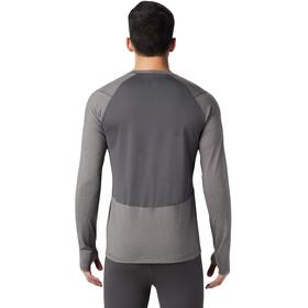 Mountain Hardwear Ghee Koszulka z długim rękawem Mężczyźni, heather shark